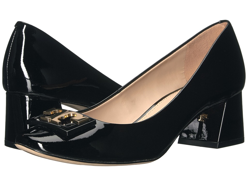 Tory Burch Gigi 50mm Pump (Black) Women's Shoes