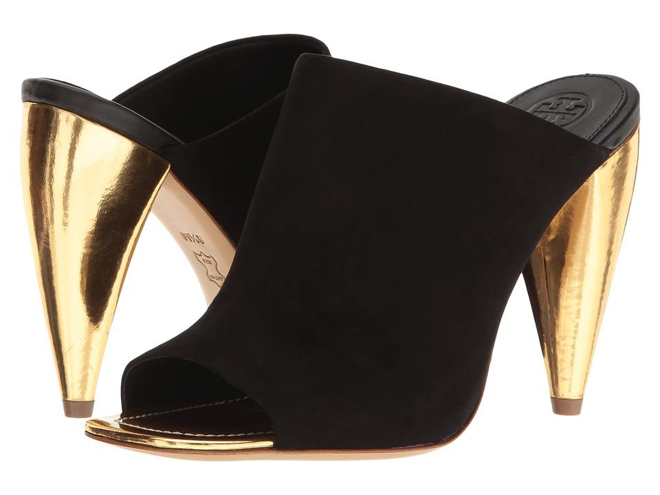 Tory Burch Ellis 105mm Mule (Black) High Heels