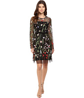 Hale Bob - Constant Gardener Embroidered Mesh Dress