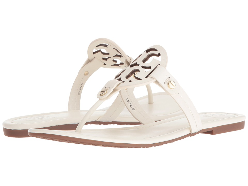 Tory Burch Miller Flip Flop Sandal (Bleach) Women's Shoes