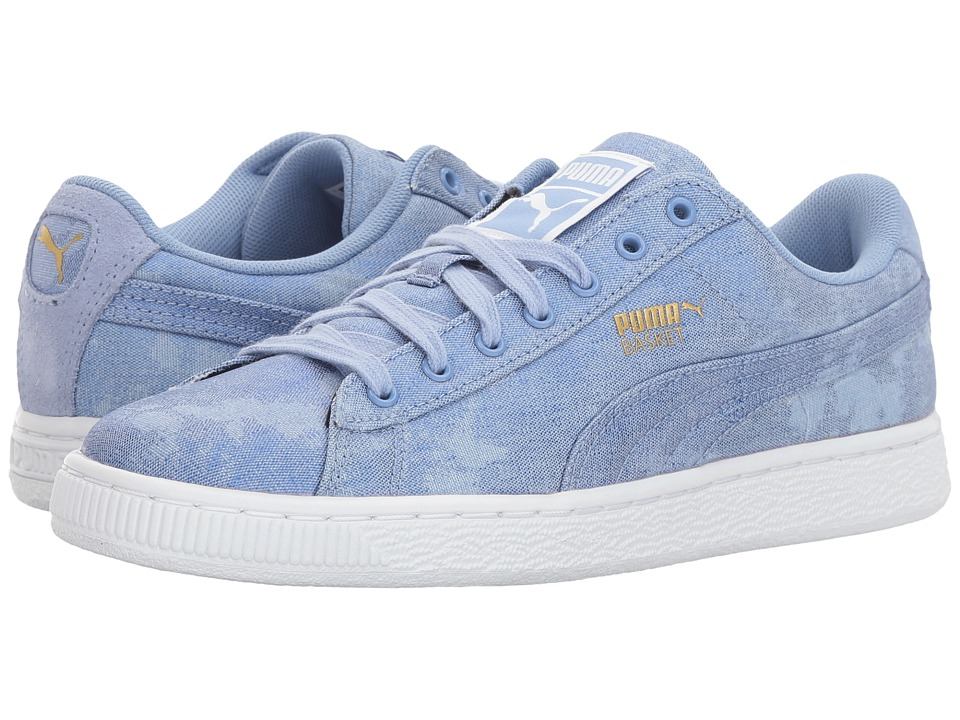 PUMA Basket Denim (Lavendar Lustre/Puma White) Women