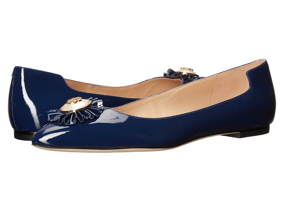 Tory Burch Melody Flat (Navy Sea) Women