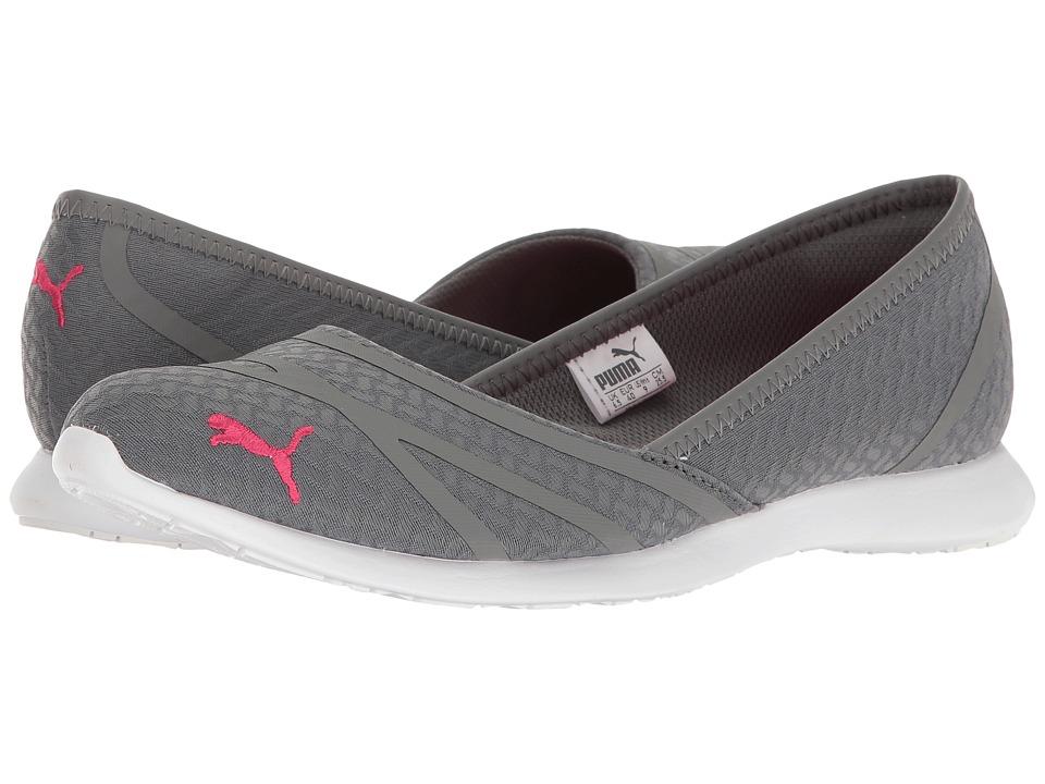 PUMA - Vega Ballet Flume (Quiet Shade/Sparkling Cosmo) Womens Shoes