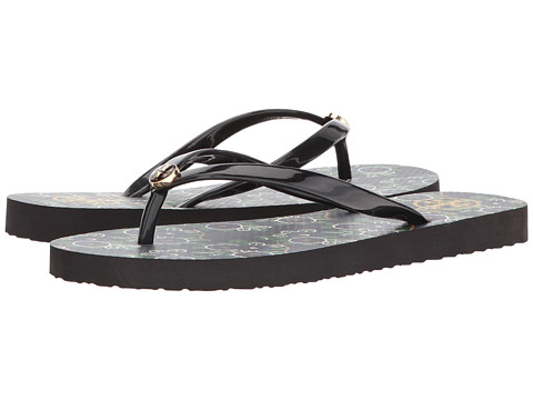 Tory Burch Thin Flip Flop - Black/Avalon