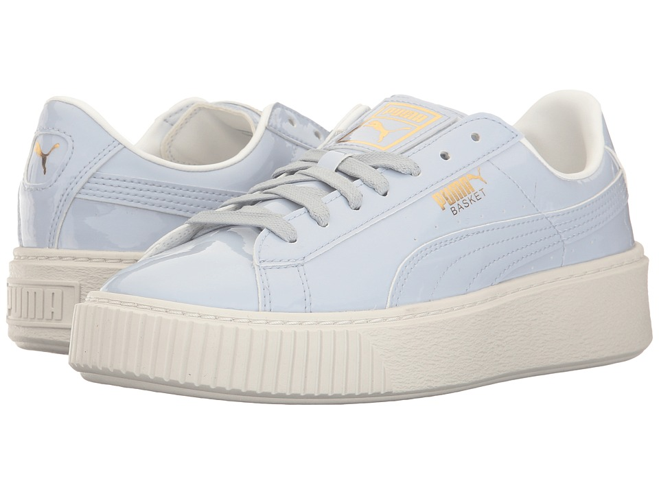 PUMA Basket Platform Patent (Halogen Blue/Halogen Blue) Women