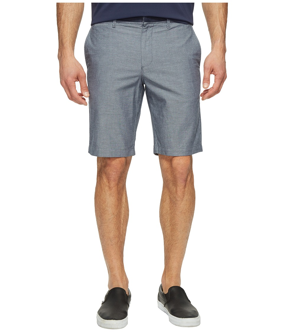 Original Penguin 10 Oxford Shorts with Gingham Tape (Dark Sapphire) Men