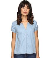 Calvin Klein Jeans - Indigo V Popover Short Sleeve Woven Shirt