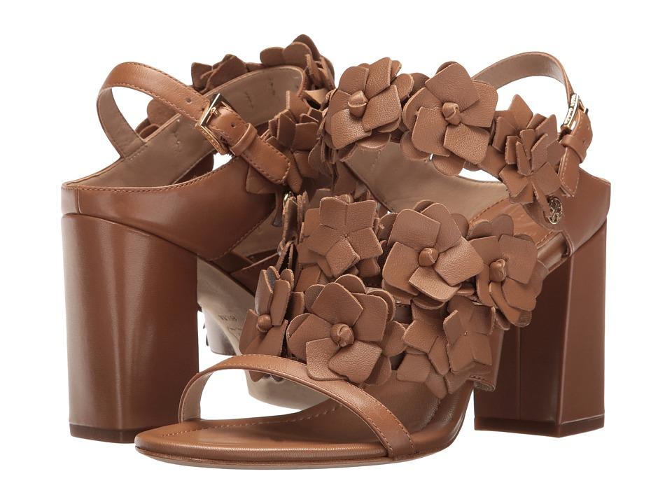 Tory Burch Blossom 65mm Sandal (Royal Tan) Women