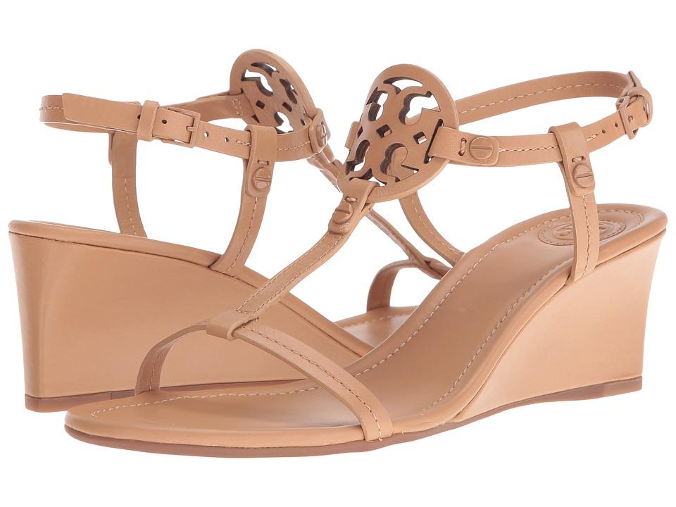 Tory Burch Miller 60mm Wedge Sandal (Dusty Cypress) Women...