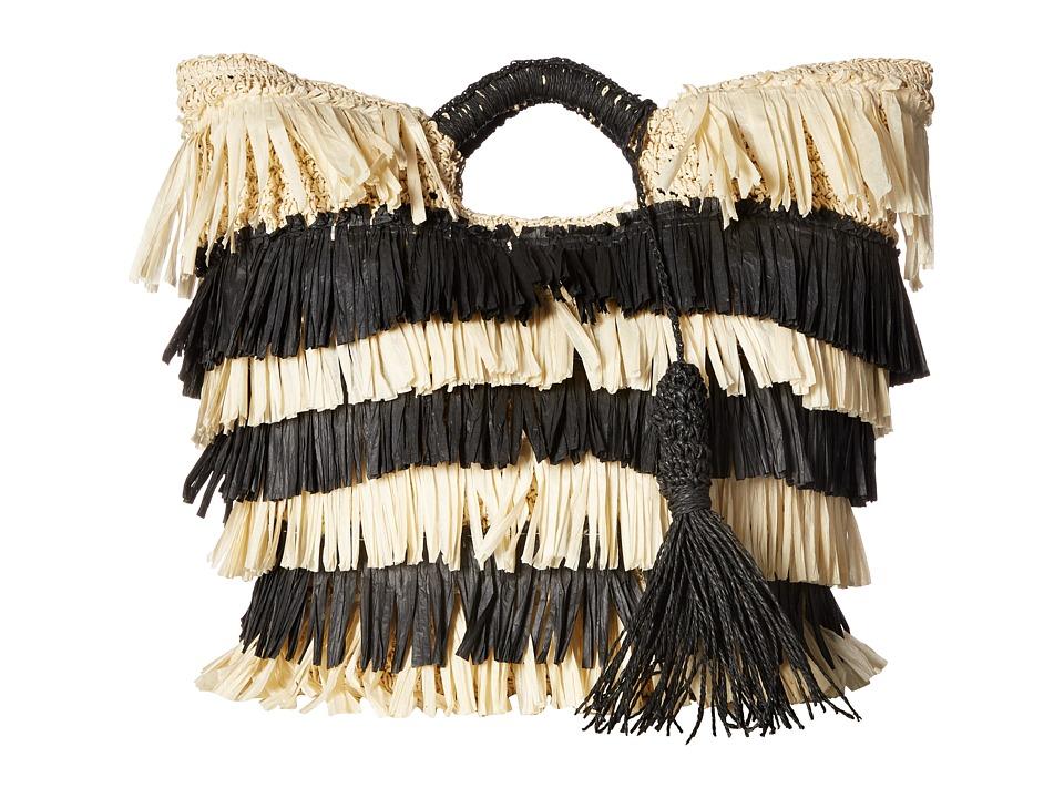 San Diego Hat Company - BSB1711 Crochet Tote (Natural) Tote Handbags