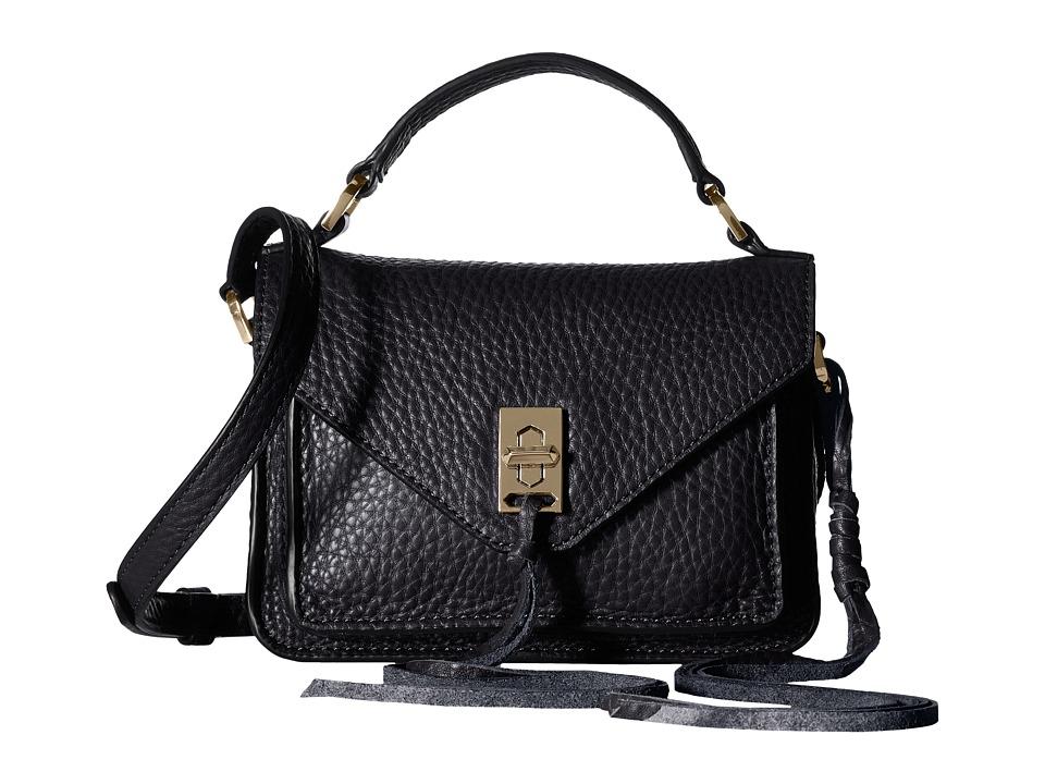 Rebecca Minkoff Mini Darren Messenger (Black) Messenger Bags