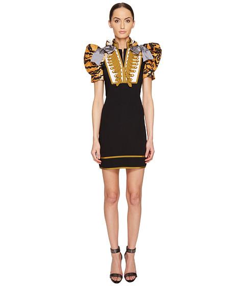 DSQUARED2 Tiger Puff Short Sleeves Mini Dress