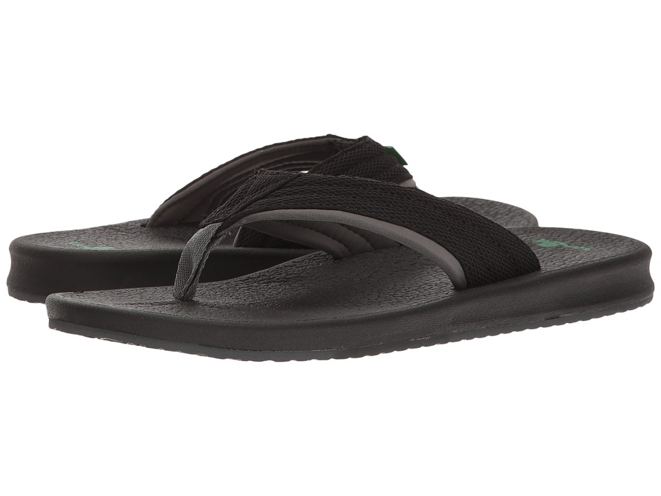 Sanuk - Brumeister (Black/Charcoal) Men's Sandals