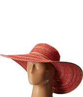San Diego Hat Company - UBL6489 Round Crown Stripe Ultrabraid Floppy Hat