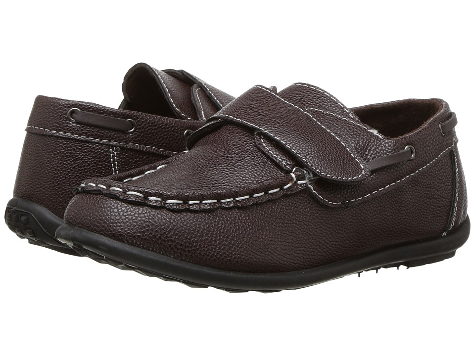 Josmo Kids - 1542B Hook Loop Fastener Loafer