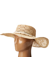 San Diego Hat Company - SPS1001 Sisal Quilt Stitch Floppy Hat