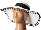San Diego Hat Company - UBL6486 Ultrabraid Sun Brim Hat with Pom Poms