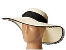 San Diego Hat Company - UBL6485 Ultrabraid Sun Brim Hat with Lace Trim
