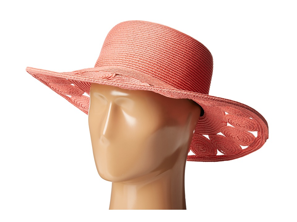 San Diego Hat Company - UBM4459 Ultrabraid Sun Brim Hat (Pink) Traditional Hats