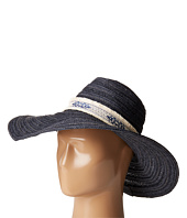 San Diego Hat Company - PBL3076 Floppy Hat with Jacquard Canvas Trim