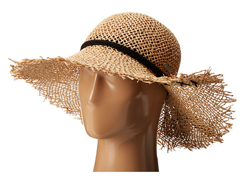 San Diego Hat Company SGF2016 Open Weave Seagrass Floppy Hat - Natural