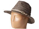 San Diego Hat Company RHF6121 2 Brim Raffia Fedora Hat