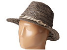 San Diego Hat Company San Diego Hat Company RHF6121 2 Brim Raffia Fedora Hat