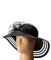 San Diego Hat Company - DRS1011 Derby Dress Hat with Organza Bow