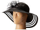 DRS1011 Derby Dress Hat with Organza Bow
