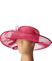 San Diego Hat Company - DRS1012 Derby Asymmetrical Wide Brim Sinamay Hat