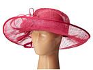 San Diego Hat Company DRS1012 Derby Asymmetrical Wide Brim Sinamay Hat