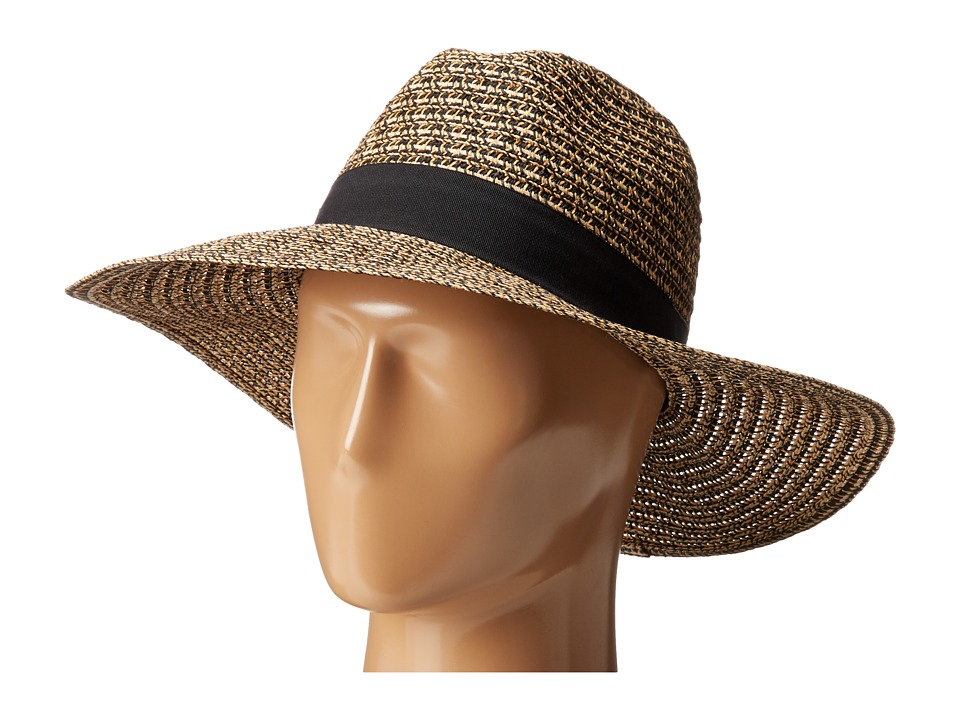 San Diego UBL6493 Four Buttons Ultrabraid Fedora Hat (Bla...