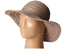 San Diego Hat Company - PBL3078 Four Buttons Paper Braid Floppy Hat with Self Knotted Tie