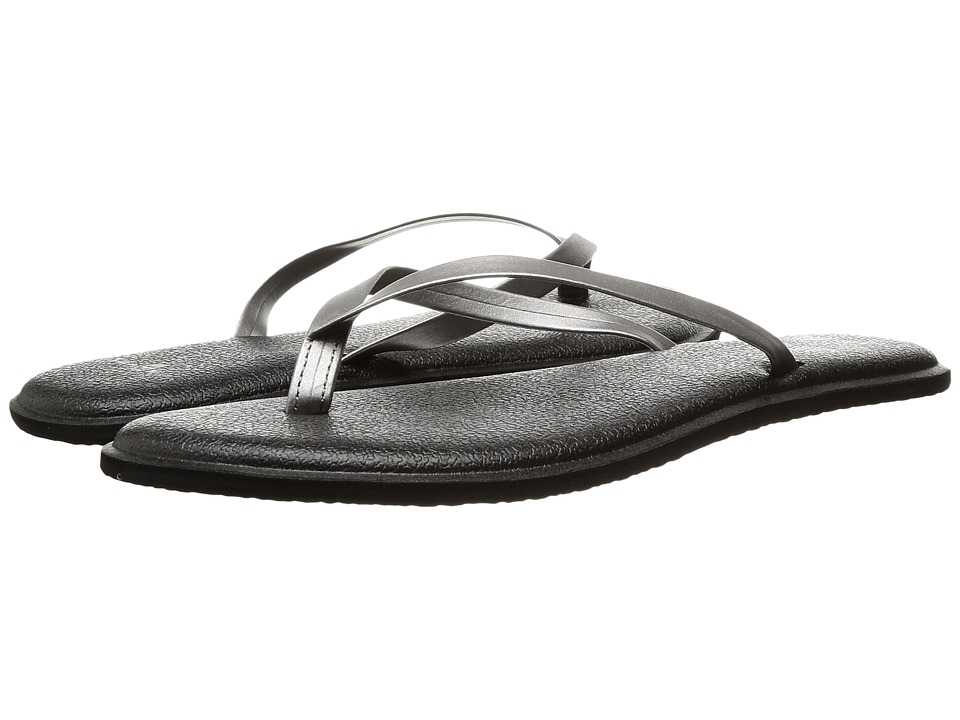 Sanuk Yoga Bliss Metallic (Pewter) Women