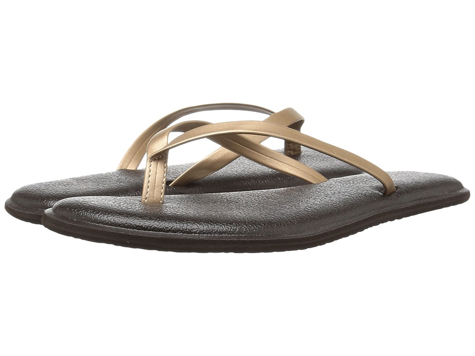 Sanuk Yoga Bliss Metallic (Rose Gold) Women