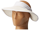 San Diego Hat Company San Diego Hat Company PBV010 Four Buttons Visor with Elastic Closure
