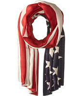 San Diego Hat Company - BSS1701 Woven American Flag Print Scarf