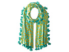 San Diego Hat Company - BSS1694 Cotton All Over Banana Print Scarf with Tassels