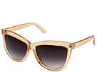 San Diego Hat Company - BSG1000 Sunglass Frames with Side Gold Panels and Gradient Lenses