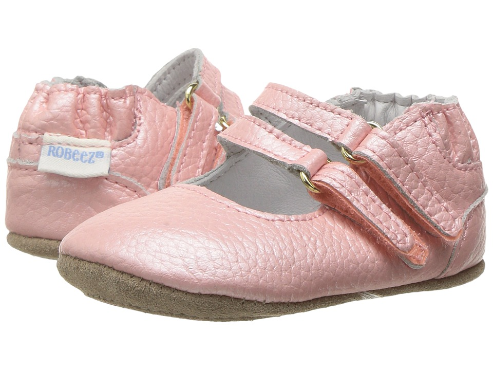 Robeez Rose Mini Shoez (Infant/Toddler) (Rose) Girl's Shoes