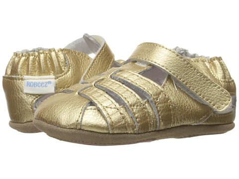 Robeez Paris Sandal Mini Shoez (Infant/Toddler) - Gold