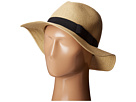 San Diego Hat Company UBF1016 Paper Braid Fedora Hat with Bow Brim