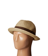 San Diego Hat Company - UBF1017 Mixed Paper Braid Fedora Hat with Ribbon Trim