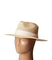 San Diego Hat Company - PBF7308 Woven Paper Fedora Hat with Twill Trim