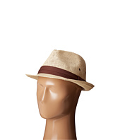 San Diego Hat Company - PBF7309 Woven Paper Fedora Hat with Solid Trim and Side Vents