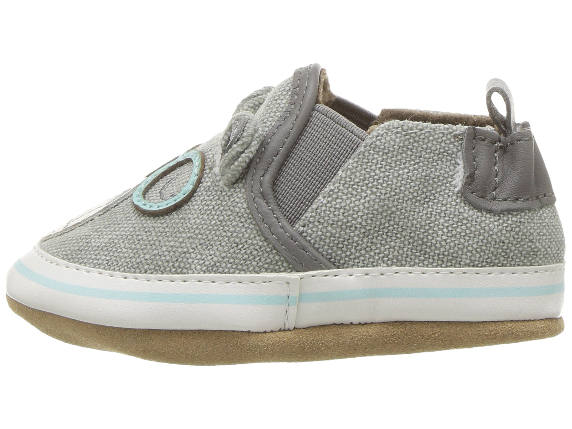 Robeez Brainy Bear Soft Sole (Infant/Toddler) at Zappos.com