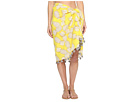 San Diego Hat Company - BSS1718 Woven Cotton All Over Pineapple Print Sarong with Tassels