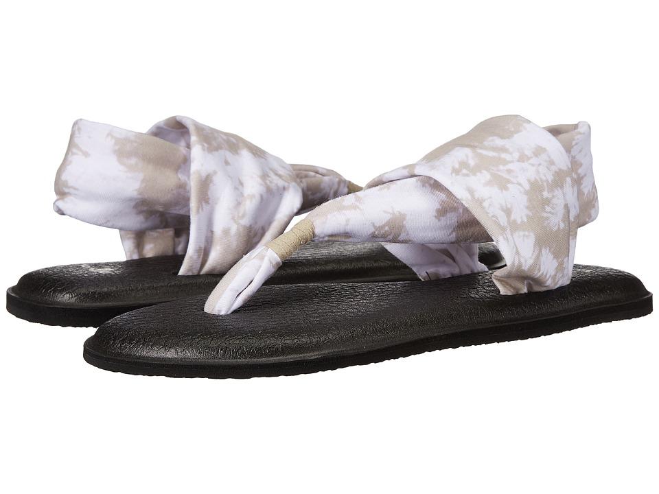 Sanuk Yoga Sling 2 Prints (Natural Tye Dye) Women's Sandals