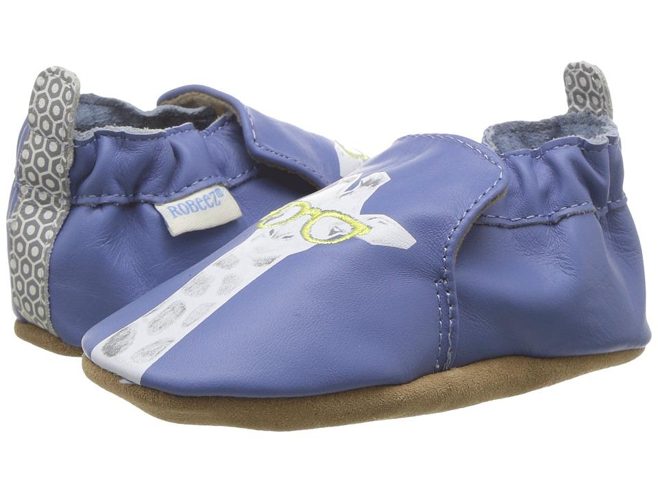 Robeez Genius Soft Sole (Infant/Toddler) (Cream) Boy's Shoes