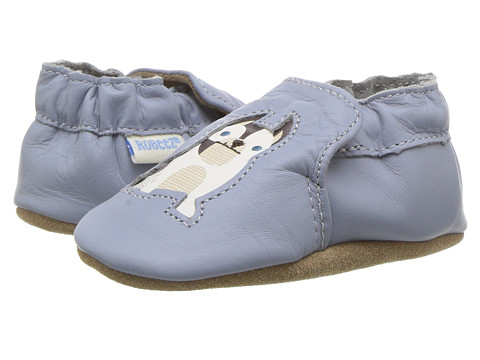 Robeez Tail Wagger Soft Sole (Infant/Toddler) - China Blue
